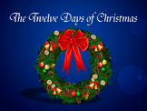Twelve Days of Christmas PowerPoint with Instrumental Trac