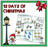 Twelve Days of Christmas : Speech Therapy Resource