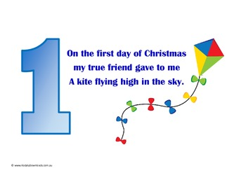 Twelve Days of Christmas Toys Singing Story