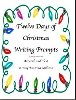 Twelve Days of Christmas Writing