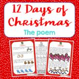 Twelve Days of Christmas Original Poem