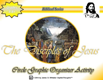 Twelve Disciples of Jesus Christ Circle Graphic Organizer Activity