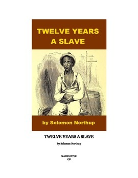 Twelve Years a Slave - Free Book!