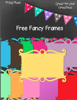 Twelve Free Fancy Frames