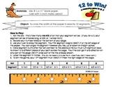 Twelve to Win!  A Measurement Game