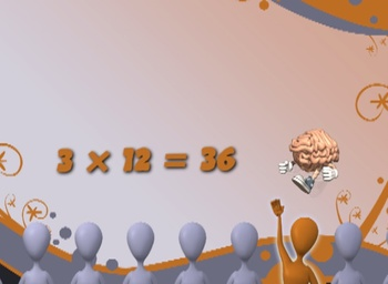 Twelves Multiplication Facts - Music Video - Math Song