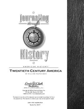 Twentieth Century America Journaling through History