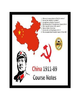 IB Authoritarian States - Mao Entire Course Notes (1911-89) - 43 pages