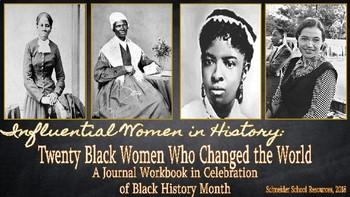 Twenty Black Women Who Changed the World: A Journal Workbook