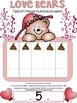 Valentine - Twenty Frame Addition Mats {Love Bears}