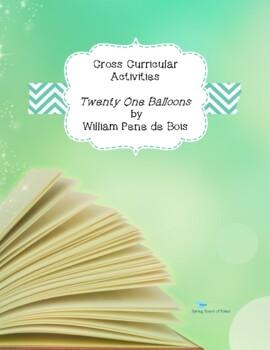 Twenty-One Balloons Cross Curricular Ideas