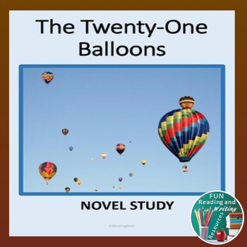 Twenty One Balloons Novel Study