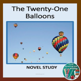 Twenty One Balloons Novel Study Distance Learning