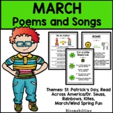 March Poems and Songs for Poetry Unit (Printable)