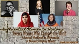 Twenty Women Who Changed the World: A Journal Workbook