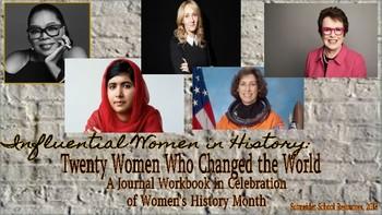 Twenty Women Who Changed the World: A Journal Workbook