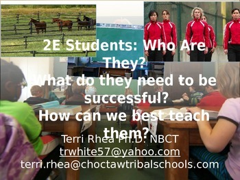 Twice Exceptional Students-- Who Are They? How Do We Best