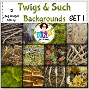 Twigs & Such Photo Background Papers Set 1- {Graphics for Commercial Use}