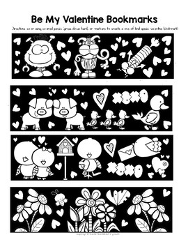 Be My Valentine Bookmarks: A Fun Activity for Valentine's Day