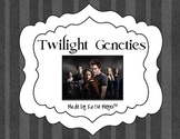 Twilight Genetics Worksheet