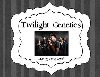 Twilight Genetics Worksheet