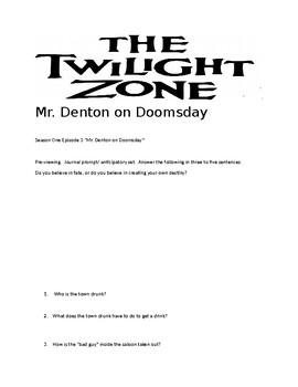 Twilight Zone Season One Episode 3: Mr. Denton on Doomsday