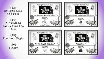 Twilight Zone Unit Resource Bundle 4: 4 Episodes Rod Serling Common Core