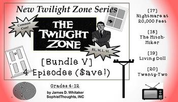 Twilight Zone Unit Resource Bundle 5: Halloween Horrors Set 1