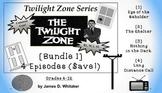 Twilight Zone Unit Resource Bundle 1: 4 Episodes Rod Serling Common Core