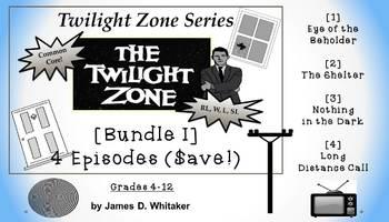 Twilight Zone Unit Resource Bundle 1: 4 Episodes Rod Serli