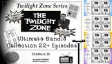 Twilight Zone Unit Resources Ultimate Bundle 24 Episodes Common Core
