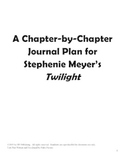 Twilight by Stephenie Meyer Writing Journals
