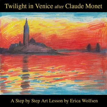 Twilight in Venice after Claude Monet