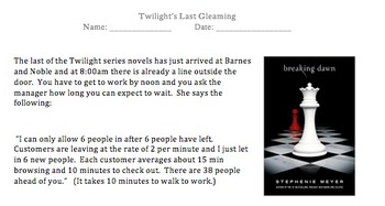 Twilight's Last Gleaming- Problem Solving
