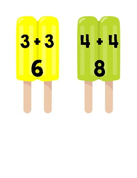 Twin Pop Addition Double Facts