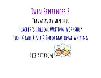 Twin Sentences 2