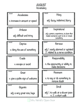 Twin Text Reading Comprehension & Vocabulary- Back to School FREEBIE
