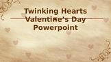 Twinking Hearts Valentine's Day Animated Powerpoint