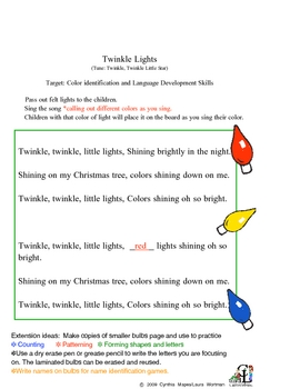 Twinkle Lights-Activity