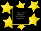 Twinkle Little Star Back to School Postcard