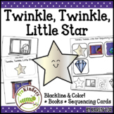 Twinkle Little Star Rhyme: Books & Sequencing Cards