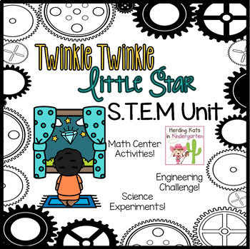 Twinkle Twinkle Little Star STEM Nursery Rhyme Activities