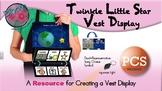 Twinkle Little Star Vest Display - PCS