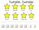 Twinkle, Twinkle Cut and Paste