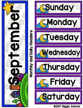 Twinkle Twinkle Full Year Calendar Cuties