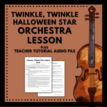 Twinkle, Twinkle Halloween Star Lesson