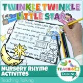 Nursery Rhyme Activities for Twinkle Twinkle Little Star