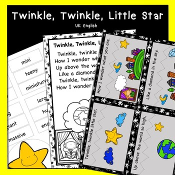 Twinkle, Twinkle Little Star Nursery Rhyme Pack AUS UK