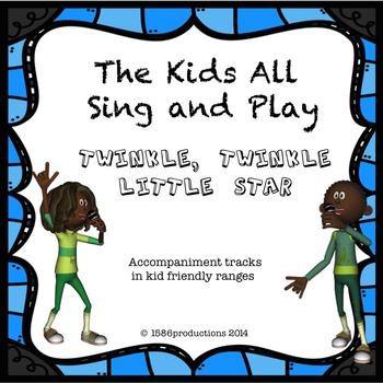 Twinkle Twinkle Little Star Accompaniment Track