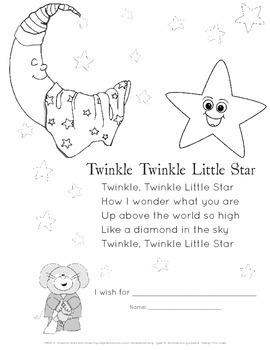 Twinkle Twinkle Little Star Activity